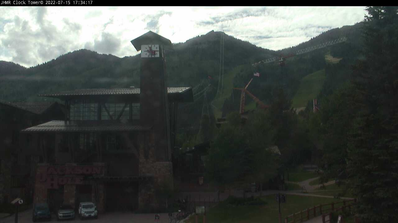 Jackson Hole Resort Tram Station Webcam - Teton Village, WY